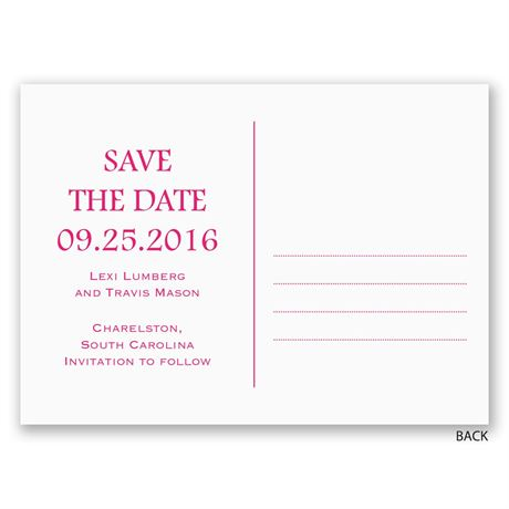 Twice the Love - Save the Date Postcard