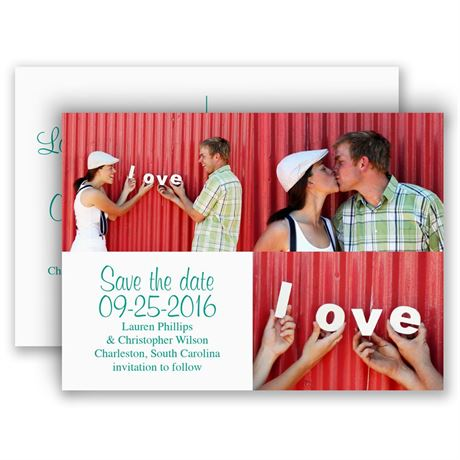 All Yours Save the Date Postcard