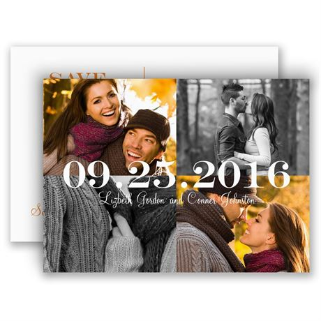 My Whole World Save the Date Postcard