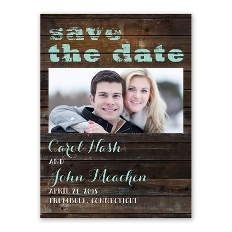 On Board Save the Date Card