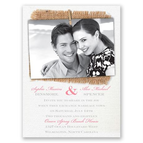Cute & Casual Petite Invitation