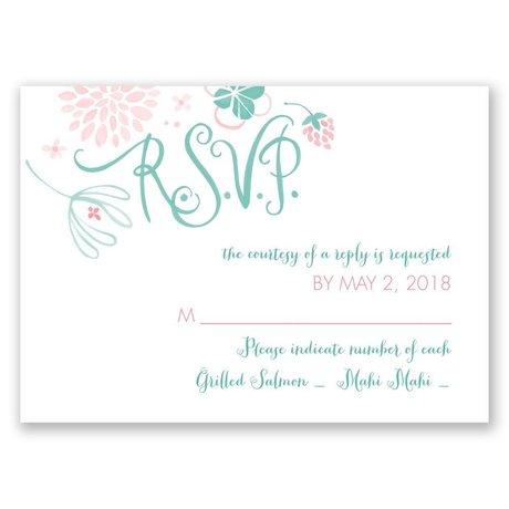 Floral Fun Response Card