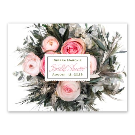 Ethereal Garden - Petite Bridal Shower Invitation