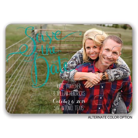 Pieced Together - Save the Date Puzzle