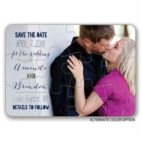 Complete Me - Save the Date Puzzle