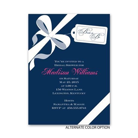 Presenting - Petite Bridal Shower Invitation