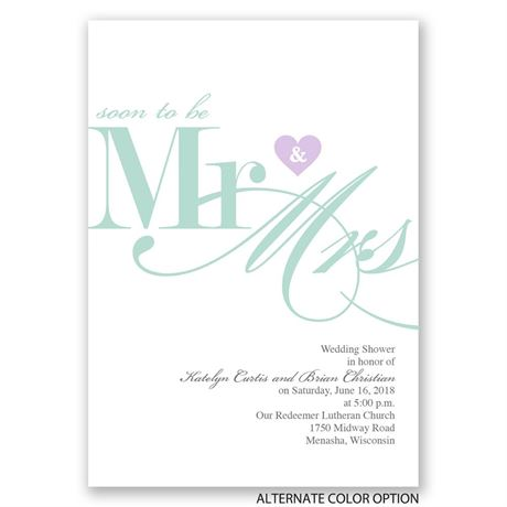 Soon to Be - Bridal Shower Invitation
