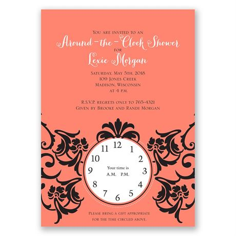 Antique Dream Bridal Shower Invitation