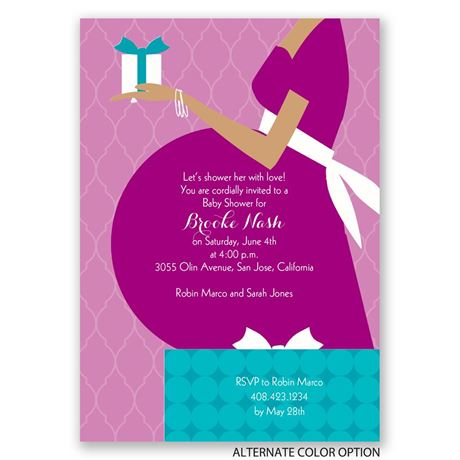 True Gift - Baby Shower Invitation
