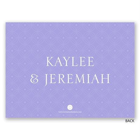 Beautifully Modern - Petite Engagement Party Invitation