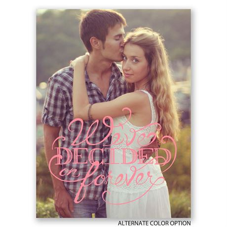 Free Style - Petite Engagement Announcements