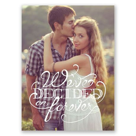 Free Style Petite Engagement Announcements