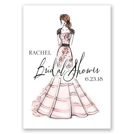 What a Beauty - Bridal Shower Invitation