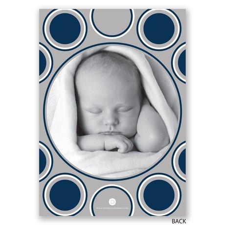 Take a Peek - Birth Announcement