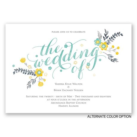 Heart and Whimsy - Invitation