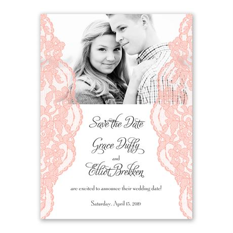 Lacy Gates - Save the Date Card