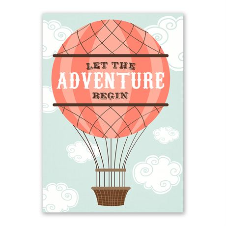 An Adventure - Baby Shower Invitation
