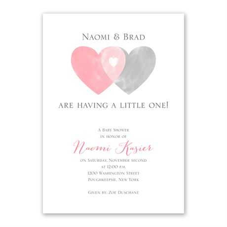 Family Love - Baby Shower Invitation