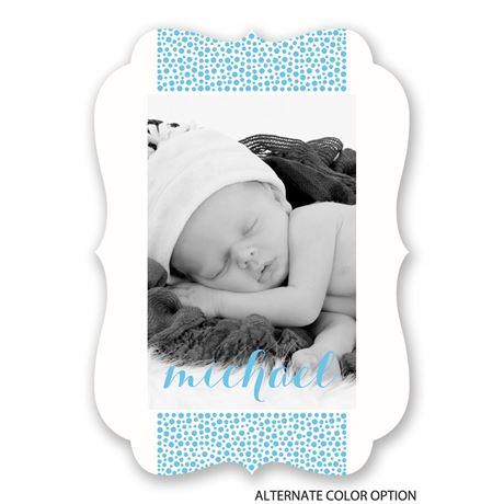Pebble Path - Birth Announcement