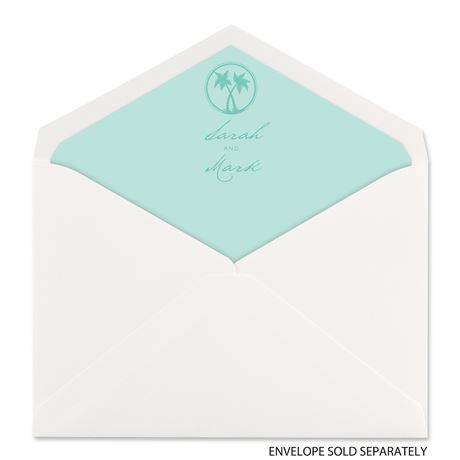 Tropical Chic - Designer Envelope Liner