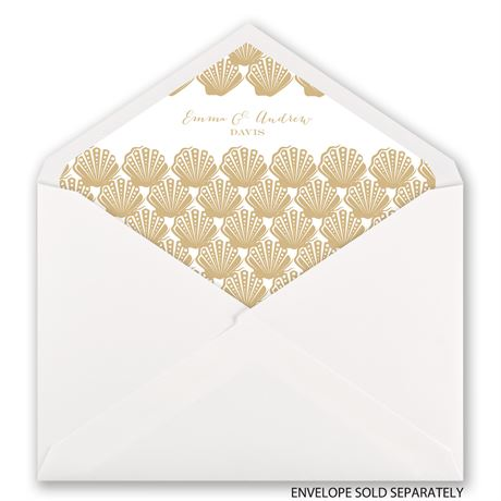 Sun Kissed - Designer Envelope Liner