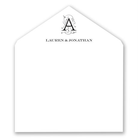 Sheer Sophistication - Designer Envelope Liner