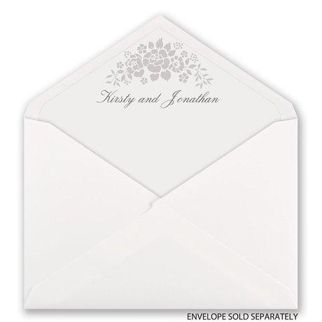 Floral Extravagance - Designer Envelope Liner