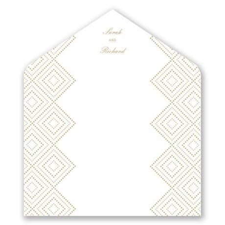Modern Deco - Designer Envelope Liner