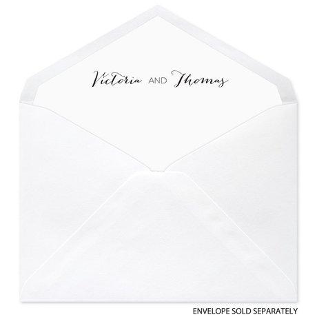 Golden Glow - Designer Envelope Liner