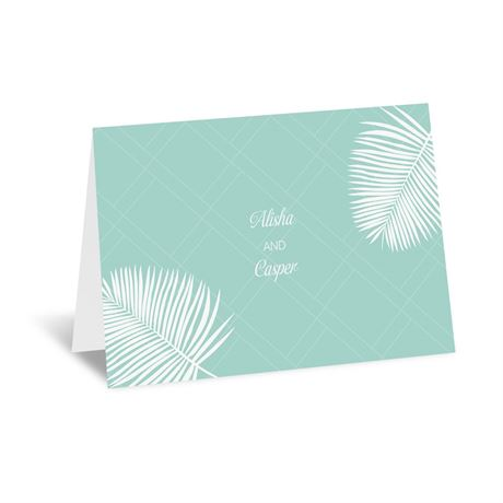 Miami Breeze Thank You Card