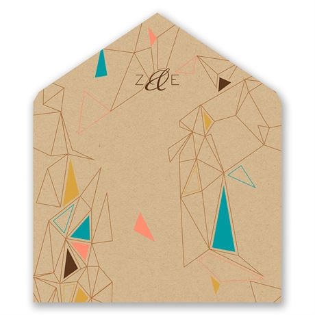 Pretty Prisms - Designer Envelope Liner