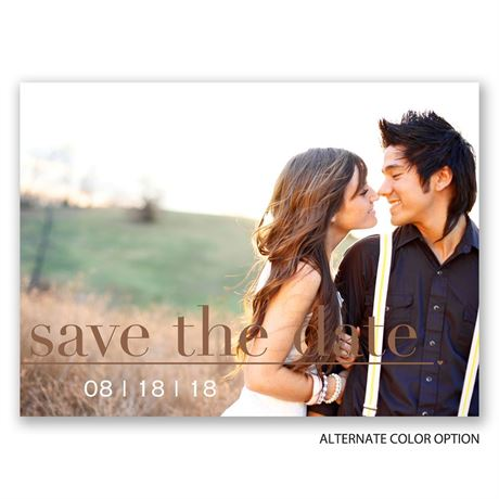 Photo Perfection - Save the Date Postcard