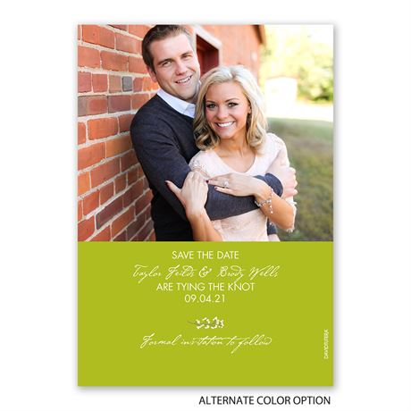 Wedding Wreath - Holiday Card Save the Date