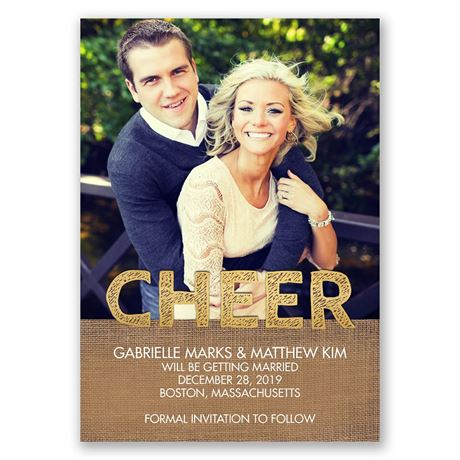 Lots of Cheer Holiday Card Save the Date