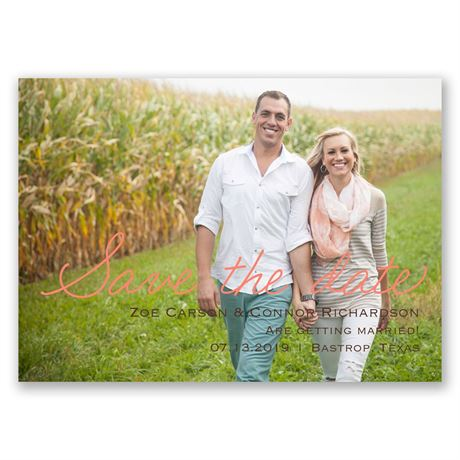 Casual Charm - Save the Date Magnet