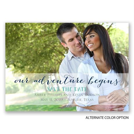 Our Adventure - Save the Date Magnet