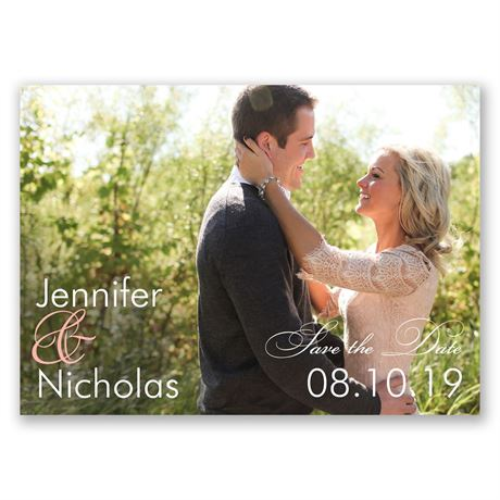 Look of Love Save the Date Magnet