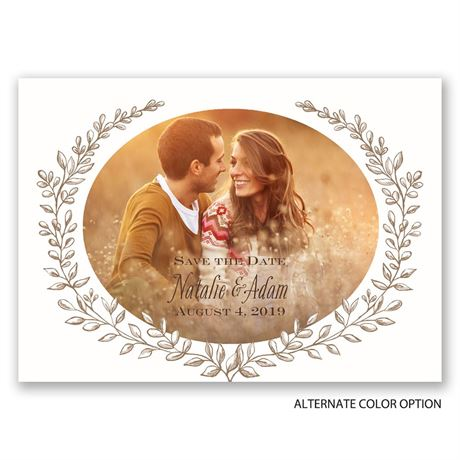 Love and Grow - Save the Date Magnet