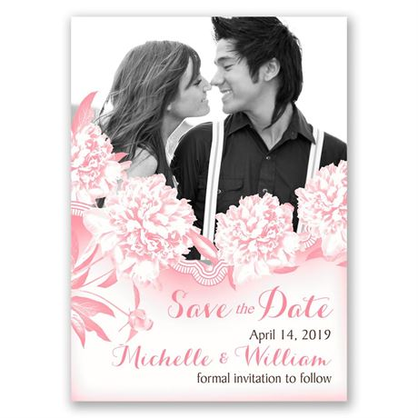 Boho Frame Save the Date Magnet
