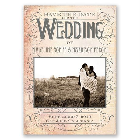 Sweet Antique - Save the Date Magnet