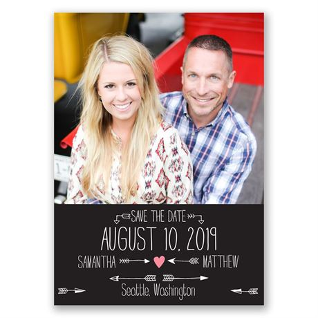 Points to Love - Save the Date Magnet