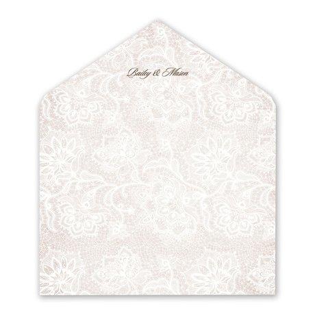 Lace Lining - Envelope Liner