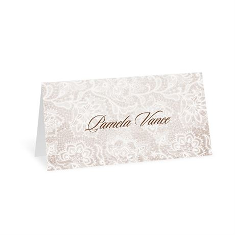 Lace Lining Place Card