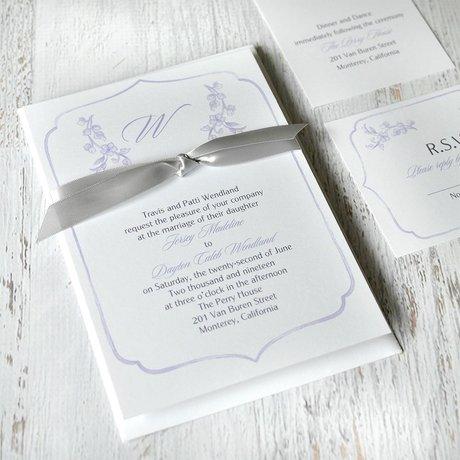 Love Blooms - Invitation