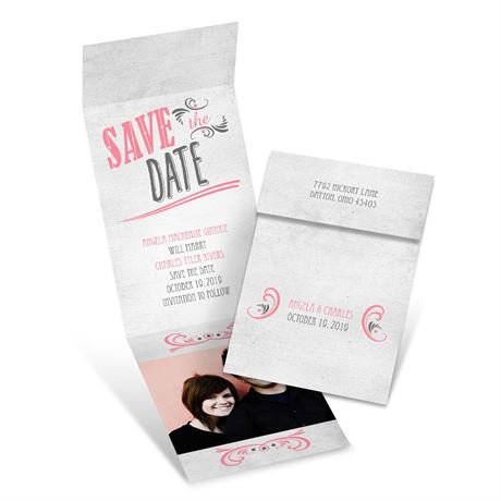 Forever Smiling Fold Up Save the Date