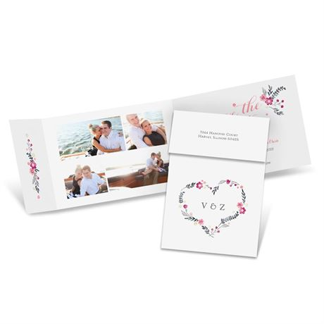 Heart and Whimsy Fold Up Save the Date
