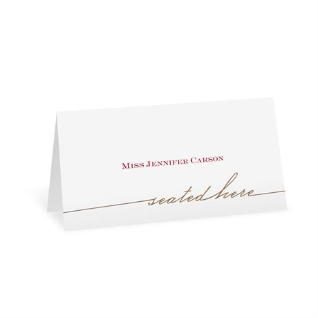 Simply Inviting Place Card