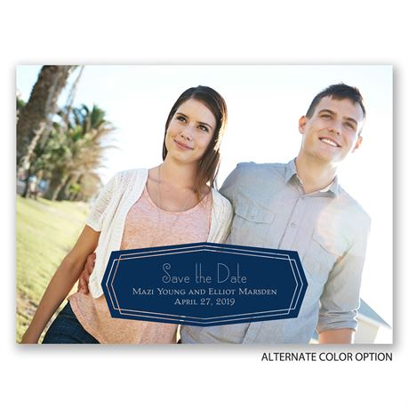 Banner Beauty - Save the Date Card