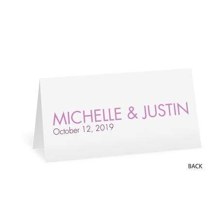 Sweet and Simple - Place Card