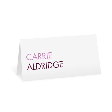 Sweet and Simple Place Card